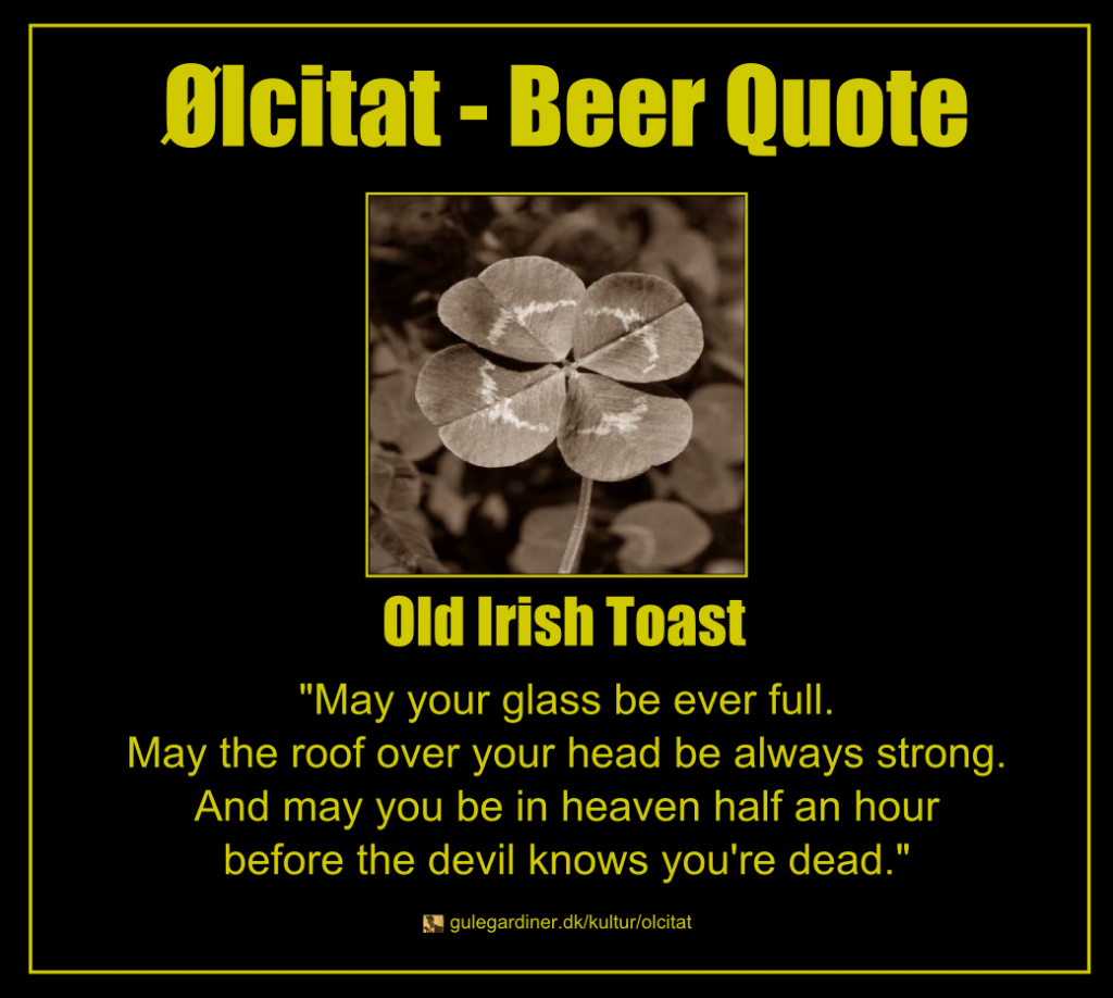 Beer Toast Quotes. QuotesGramIrish Proverbs About Life